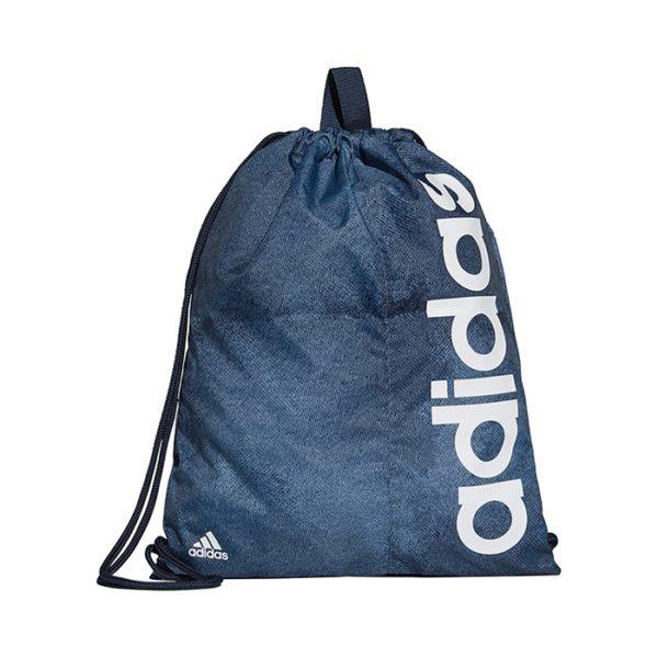 Adidas Linear Performance gymtasje unisex blauw