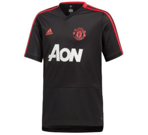 Adidas Manchester United TRG Jersey Y