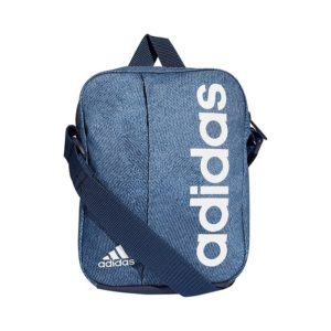 Adidas Performance schoudertas unisex blauw/wit