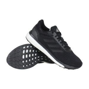 Adidas Response hardloopschoenen heren zwart/wit