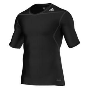 Adidas Techfit Base SS thermoshirt heren zwart