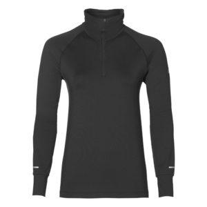 Asics 1/2 L S hardloopsweater dames zwart