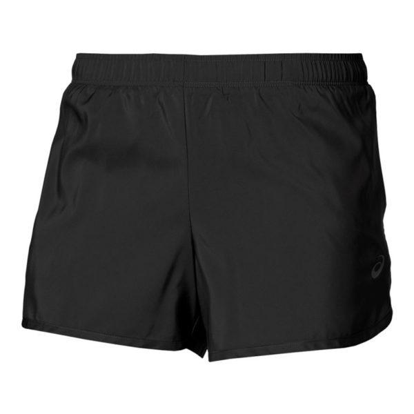 Asics 3.5 inch hardloopshort dames zwart