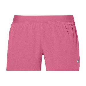 Asics 3.5 inch woven hardloopshort dames roze