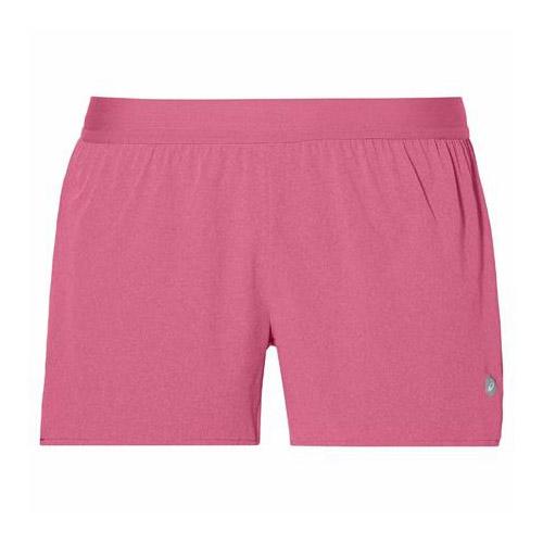 Asics 3.5 inch woven hardloopshort dames roze