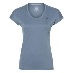 Asics Capsleeve Top shirt dames blauw