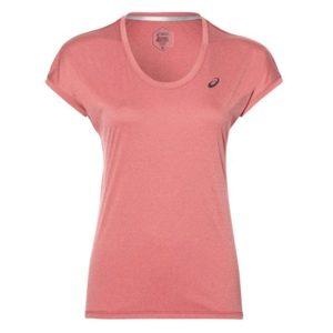 Asics Capsleeve Top shirt dames roze