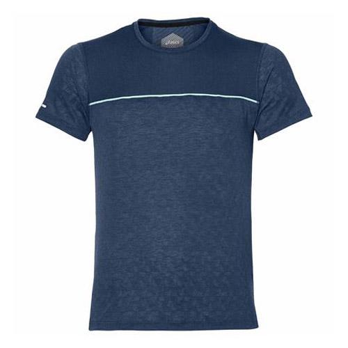 Asics Gel Cool SS shirt heren marine/turquoise