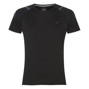Asics Icon hardloopshirt heren zwart