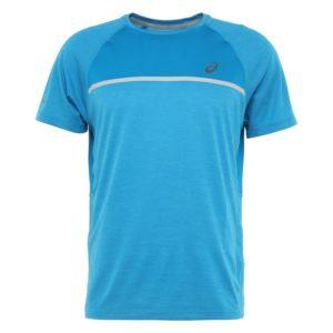 Asics SS Top hardloopshirt heren blauw