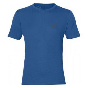 Asics Silver SS hardloopshirt heren blauw