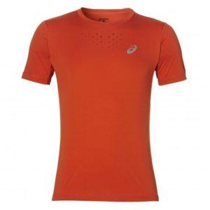 Asics Stride SS hardloopshirt heren oranje