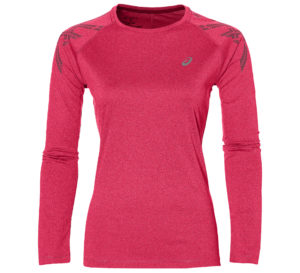 Asics Stripe LS Running Top