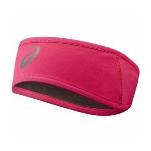Asics winter hoofdband roze