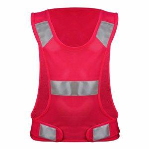 Avento reflectie sport vest dames roze