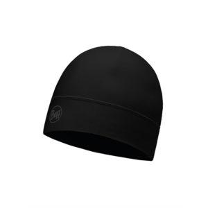Buff 1 Layer Hat Solid Black Unisex