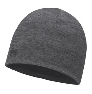 Buff Lightweight Merino Wool Hat Solid Grey