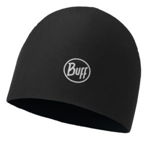 Buff Microfiber 2 Layers Hat Solid Black