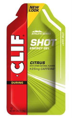 Clif Energy Shot Gel Citrus + Caffeine