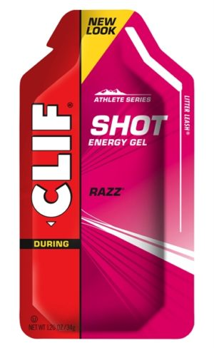 Clif Energy Shot Gel Raspberry
