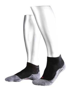 Falke RU4 Cushion Short hardloopsokken grijs/zwart/rood heren
