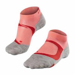 Falke hardloopsokken RU4 Cushion short dames grijs/roze