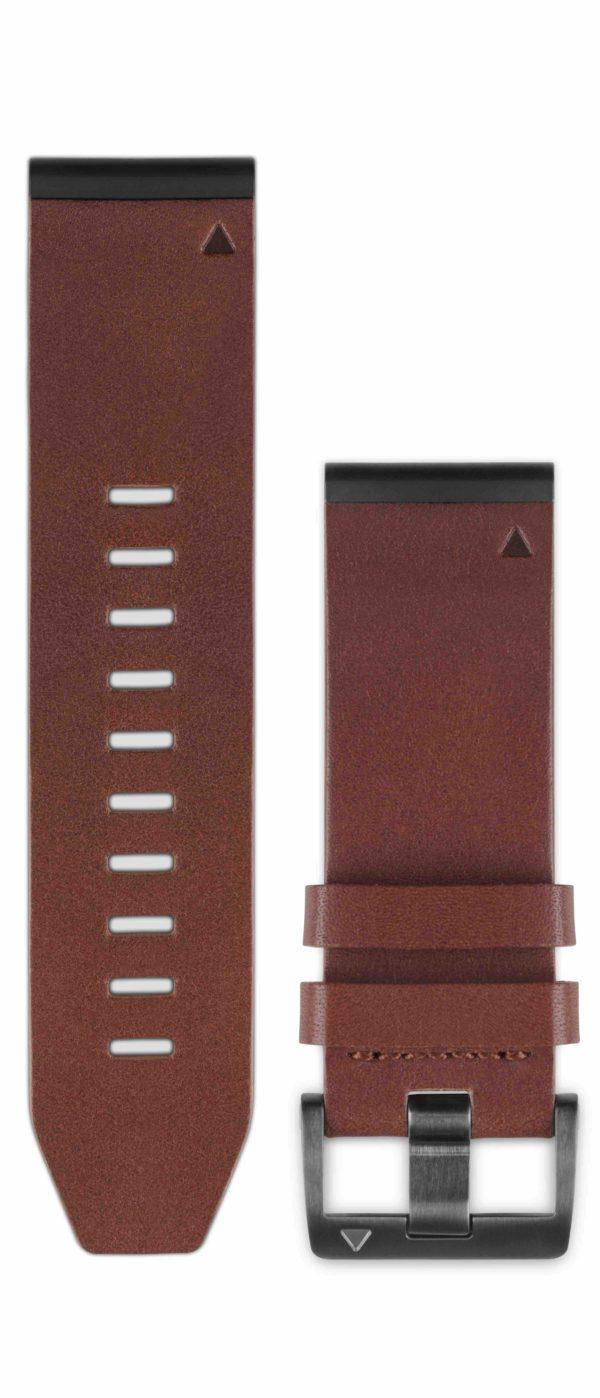 Garmin Quickfit Horlogebandje Leer Fenix 3 / Fenix 5x
