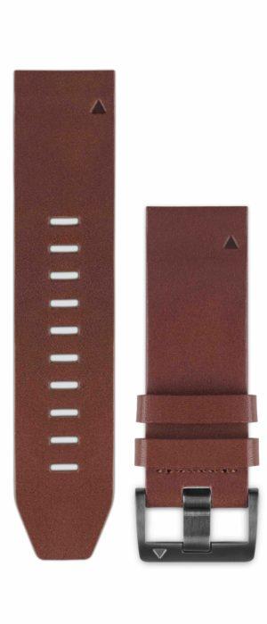Garmin Quickfit Horlogebandje Leer Fenix 5 / Forerunner 935