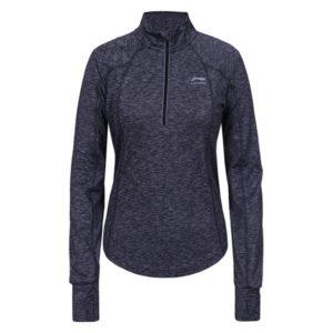 Li-Ning Ellen hardloopsweater dames grijs