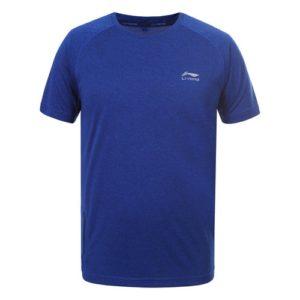 Li-Ning Fabio hardloopshirt heren blauw