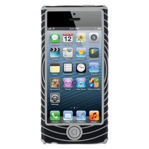 Nathan Sonic Grip Iphone 5 houder zwart/grijs