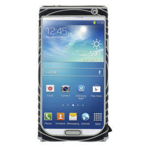 Nathan Sonic Grip Samsung GS4 houder zwart/grijs