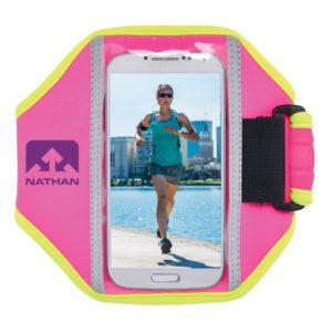 Nathan Super 5K phone houder roze/geel