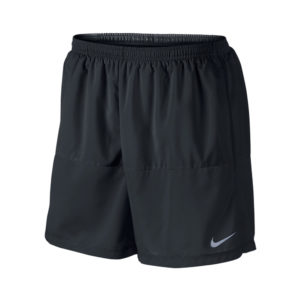 Nike 5 inch Distance hardloopshort heren zwart