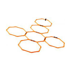 Nike Agility trainingsweb oranje
