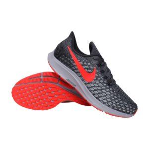 5f468babd49 Nike Air Zoom Pegasus 35 hardloopschoenen heren antraciet/rood