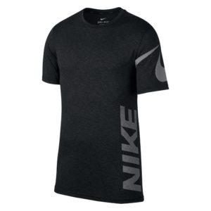 Nike Breathe Dry SS shirt heren zwart/antraciet/wit