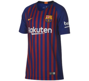 Nike Breathe FCB Stadium Home Jersey Junior