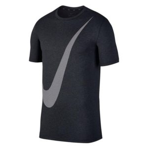 Nike Breathe Hyper Logo shirt heren antraciet/wit