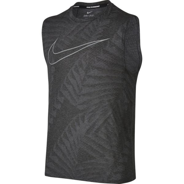 Nike Breathe Swoosh Singlet Heren