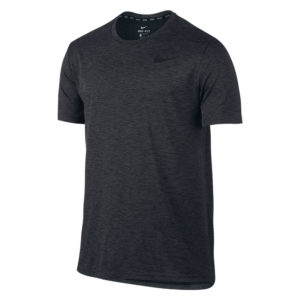 Nike Breathe shirt heren antraciet