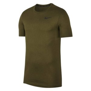 Nike Breathe shirt heren groen