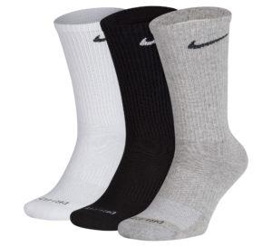 Nike Cotton Cushion Socks (3-pack)