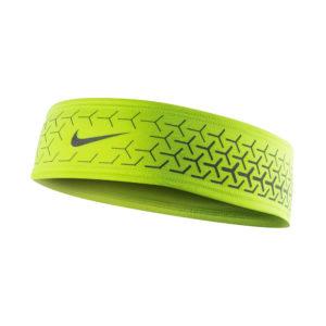 Nike Dri-Fit 360 hardloop hoofdband geel