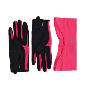 Nike Dri-Fit Combi set I dames zwart/roze