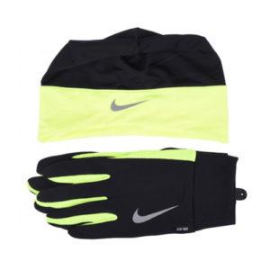 Nike Dri-Fit Combi set II zwart/geel heren
