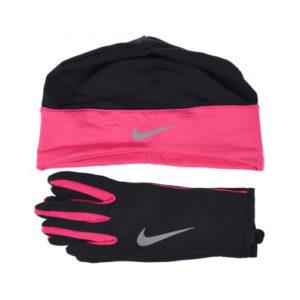 Nike Dri-Fit Combi set II zwart/roze dames