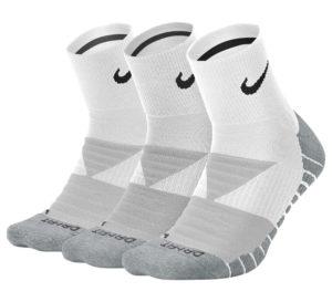 Nike Dry Cushioned Quarter Training Socks (3-pack)