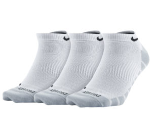 Nike Dry Lightweight No-Show Training Socks (3-pack)