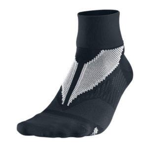Nike Elite Hyper-Lite hardloopsokken unisex zwart halfhoog